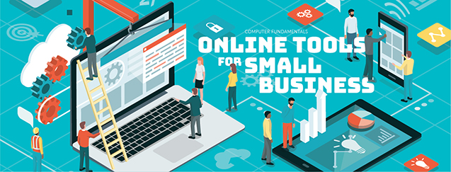 Catalog Slider – Slide 5: Online Tools for Small Business