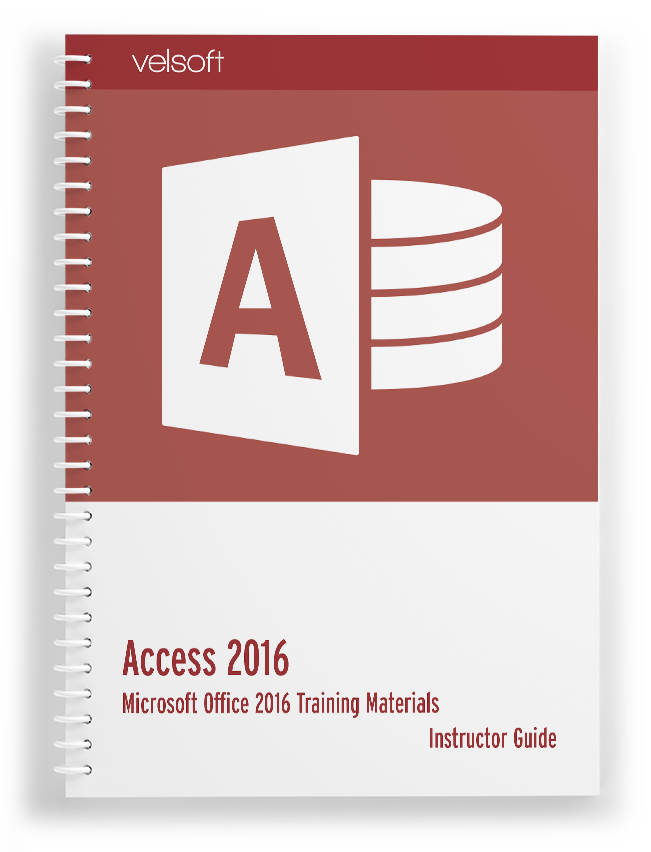 Access 2016 Training Materials